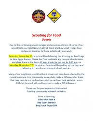 Scouting for Food flyer 2012