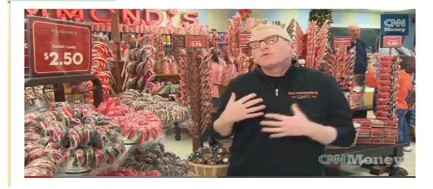 VIDEO: Inside a Candy-Cane Factory   The Source