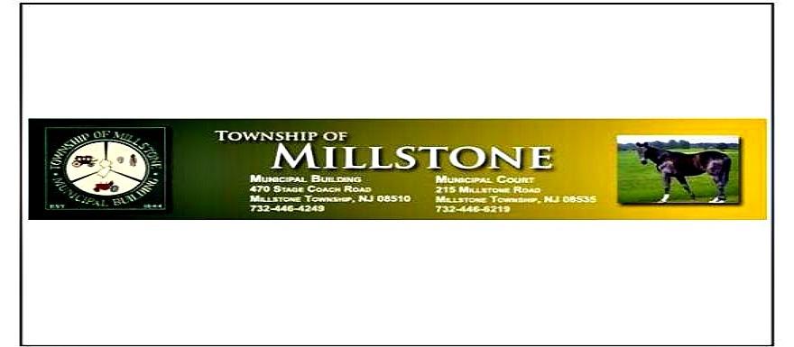 Millstone Township Committee Agenda 3/4/15