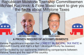 Millstone Republican candidates want to give you the facts about Millstone taxes