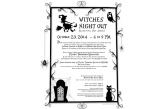 Witches' Night Out 10/23