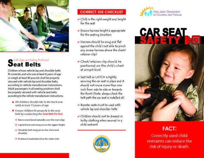 New Child Restraint Laws In Nj The Source