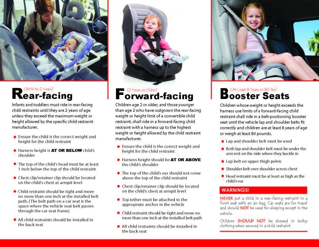 CarSeatSafetyBrochure Page 1 2