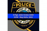 Passing of Detective Sergeant John Green