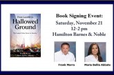 TODAY! Meet the Authors: From Landfill to Hallowed Ground