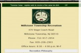 Sign up for Millstone's Winter Rec Programs