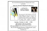 The Jewish Heritage Museum Presents Only In Terezin/Raphael's Requiem 10/11