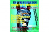 """2nd Annual Swing Into Spring """"Comedy & Dessert"""" Event 3/19"""