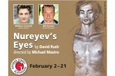 """Nureyev's Eyes"" on stage at George Street Playhouse 2/2-21"
