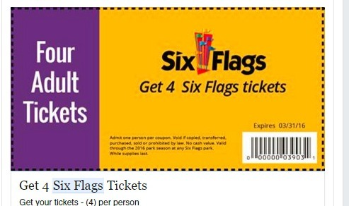 Six Flags Ticket Scam The Source