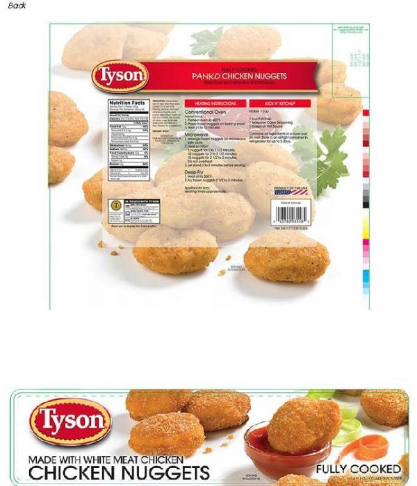 Recall Tyson Foods Chicken Nuggets The Source