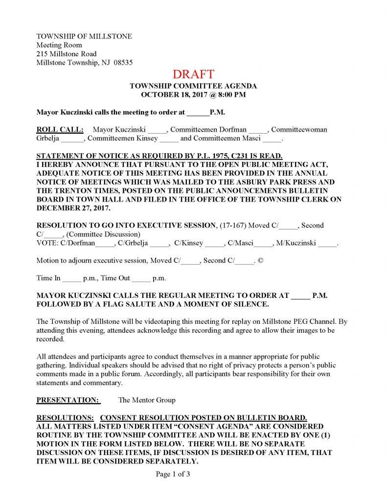 Doc638903 Draft Meeting Agenda Vilkaviskis meeting agenda – Draft Meeting Agenda