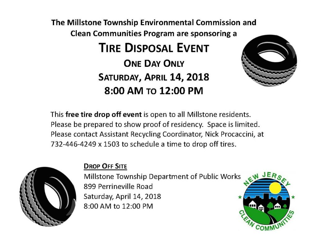 Tire Disposal Event 4/14   The Source