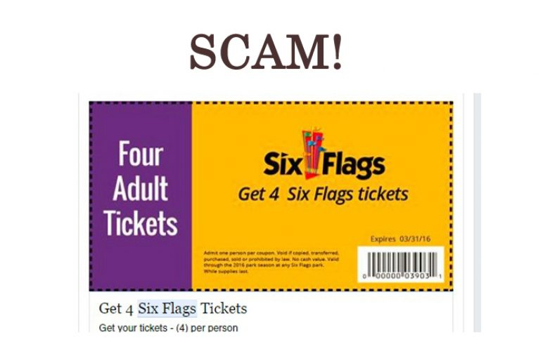 Six Flags Ticket SCAM | The Source