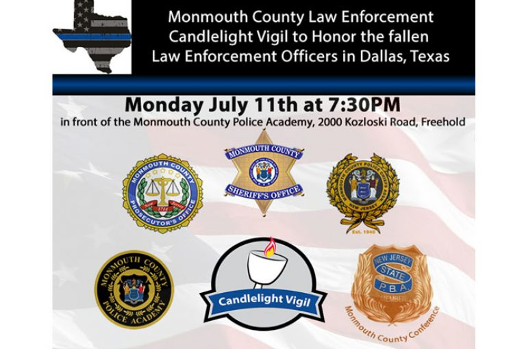 Candlelight Vigil to Honor the Fallen Dallas Police 7/11