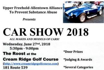 Upper Freehold Allentown Alliance To Prevent Alcoholism Drug Use - Allentown car show 2018